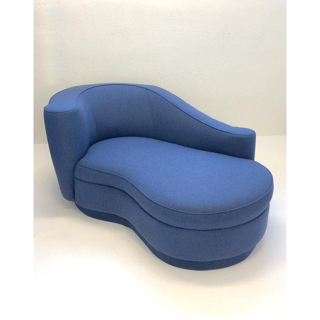 Rare Corkscrew Chaise Lounge Attributed to Vladimir Kagan For Sale In Palm Springs - Image 6 of 9