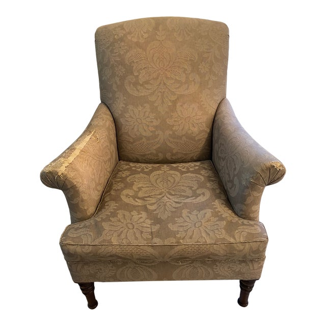 Holly Hunt Upholstered Chair For Sale