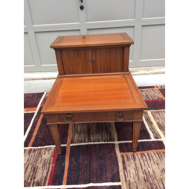 Hekman Furniture Mid-Century Modern End / Side Table For Sale - Image 12 of 12