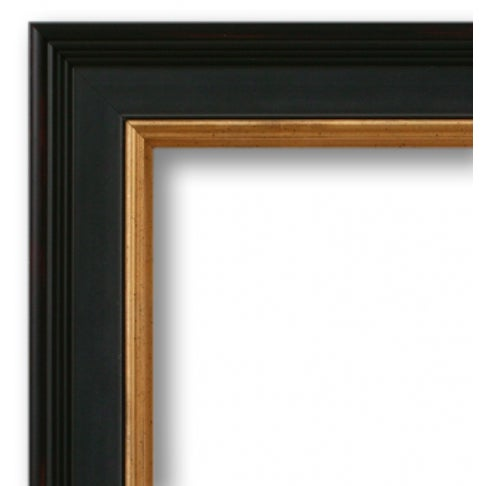 Contemporary Framed Tang Blue Scroll III - 18 x 24. For Sale - Image 3 of 3