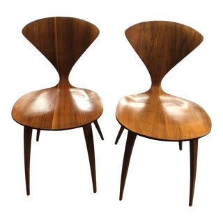 Norman Cherner for Plycraft Side Chairs - A Pair