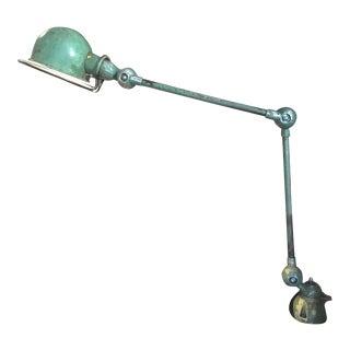 Jieldé Green Swing Arm Task Lamp