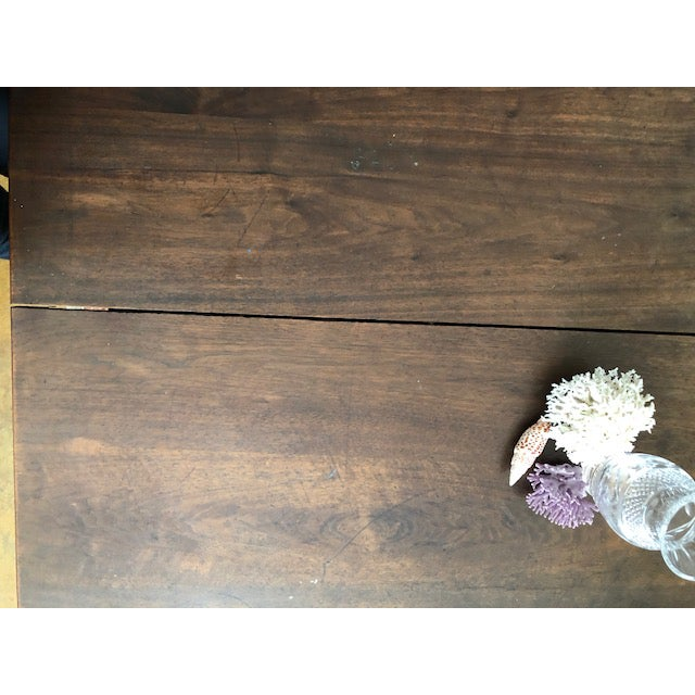 19th Century Victorian Walnut Dining Table For Sale - Image 4 of 6