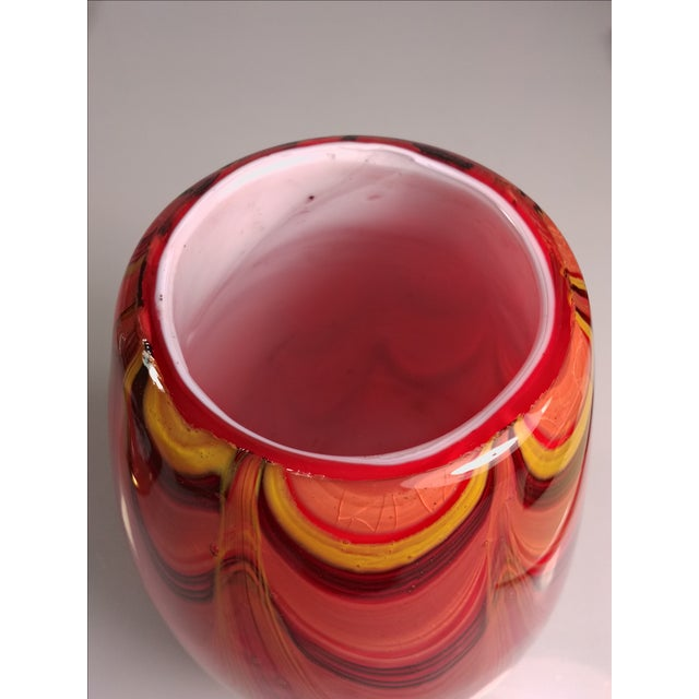2008 Murano Art Glass Vase - Image 7 of 11