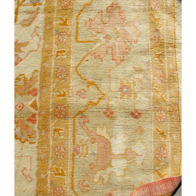 Oversized Oushak Carpet For Sale - Image 4 of 10