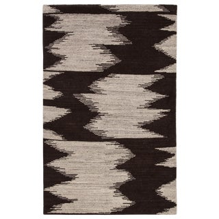 Jaipur Living Ozark Hand-Knotted Geometric Area Rug - 5′ × 8′ For Sale