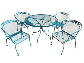 Image of Turquoise Patio and Garden Furniture