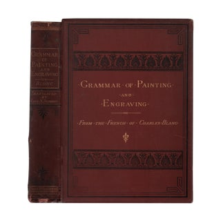 "1874 ""The Grammar of Painting and Engraving"" Collectible Book For Sale"