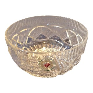Commemara Celtic Crystal Bowl - Made in Ireland