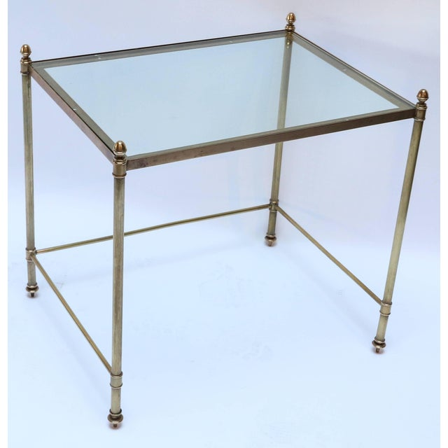1960s Italian Brass Nesting Tables-Set of 3 For Sale - Image 4 of 10
