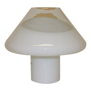 Mid-Century Modern Murano Glass Table Lamp For Sale