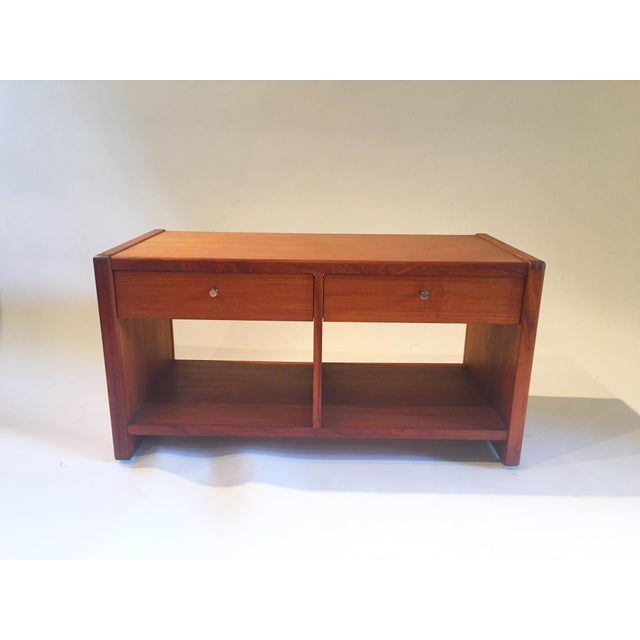 Mid-Century 2 Drawer Cabinet - Image 2 of 5
