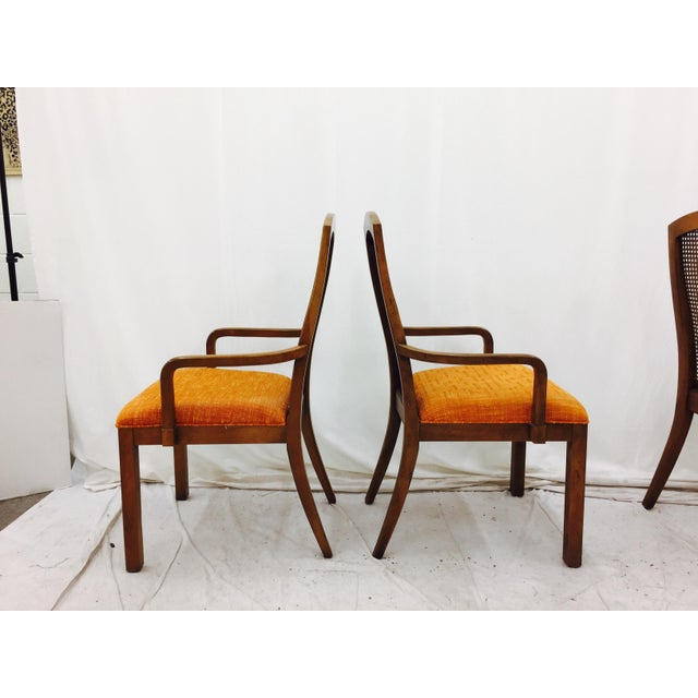 Vintage Dixie Mid-Century Dining Chairs - Set of 6 - Image 11 of 11
