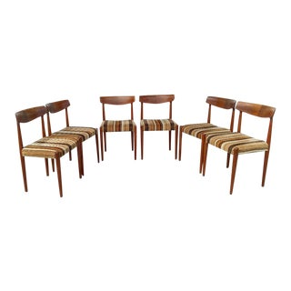 20th Century Danish Modern Walnut Dining Chairs - Set of 6