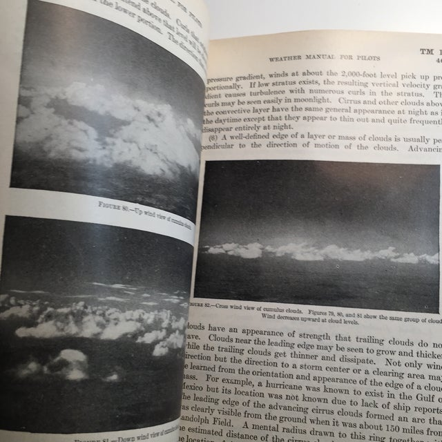 Paper 1940 War Department Weather Manual for Pilots For Sale - Image 7 of 11