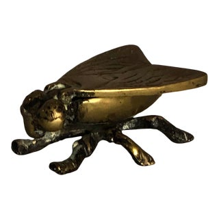 Vintage Brass Fly Box For Sale