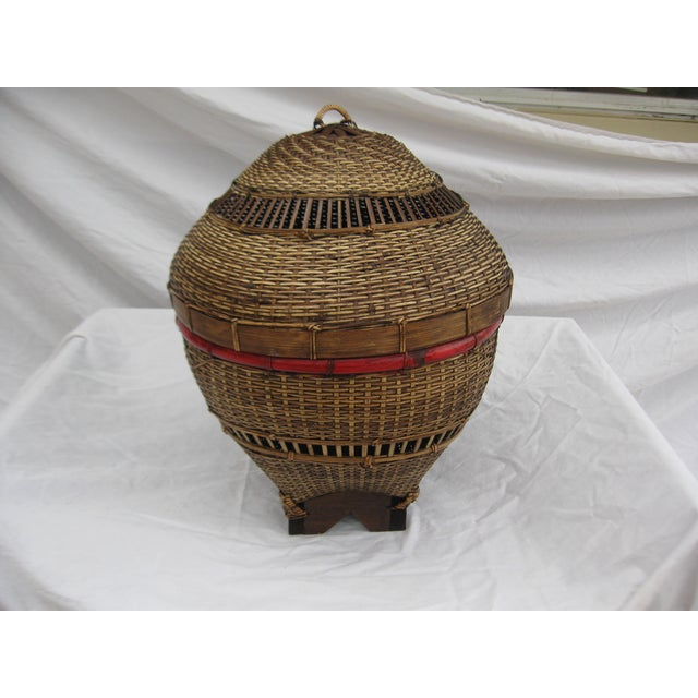 Chinese Covered Basket - Image 2 of 5