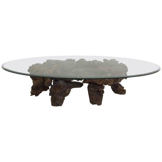 Californian Burl Wood Coffee Table - Image 1 of 6