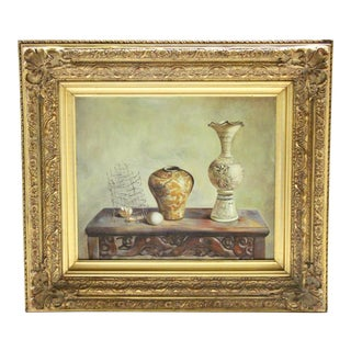 Oil Still Life Painting For Sale