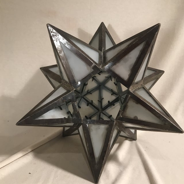 Geometric Metal Light Shade - Image 4 of 5