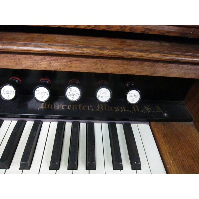 Loring & Blake Palace Organ For Sale - Image 5 of 10