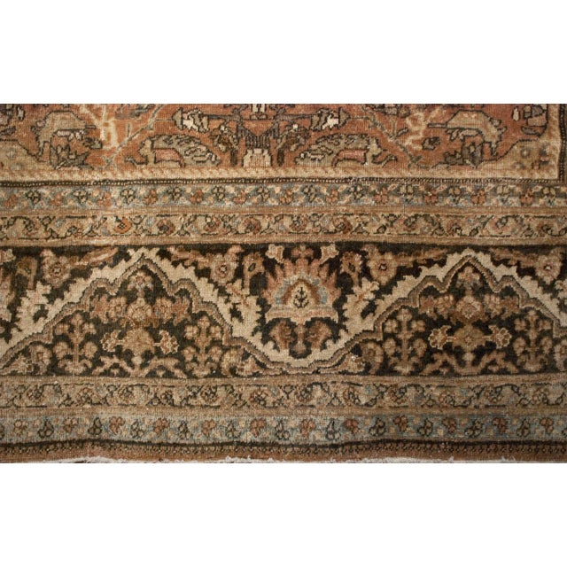 "Early 20th Century Mahal Sultanabad Rug - 144"" x 208"" For Sale - Image 4 of 5"