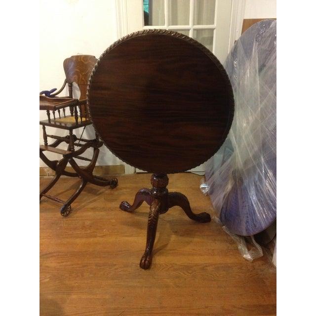 Georgian Rosewood Tilt-Top Pedestal Table For Sale - Image 11 of 11