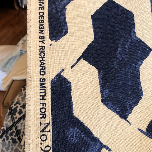 Agiasos Design by Richard Smith No9 Thompson Fabric For Sale - Image 4 of 7