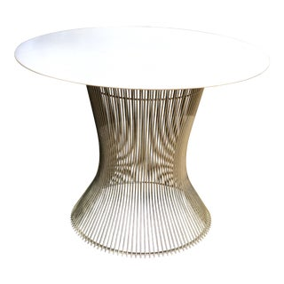 1960s Mid-Century Modern Warren Platner Marble Top Table For Sale