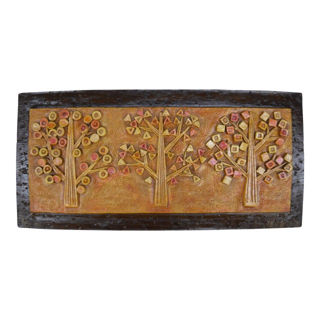 Mid-Century Abstract 3D Tree Art - Image 1 of 3