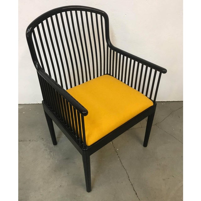 """Mid-Century Modern Set of 14 Yellow Davis Allen """"Andover"""" Chairs for Stendig For Sale - Image 3 of 9"""