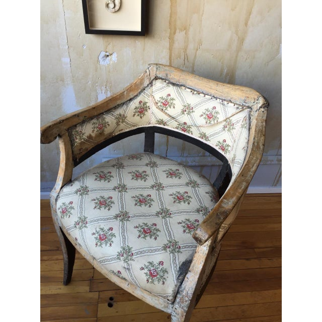 Italian Antique Arm Chair For Sale - Image 5 of 10
