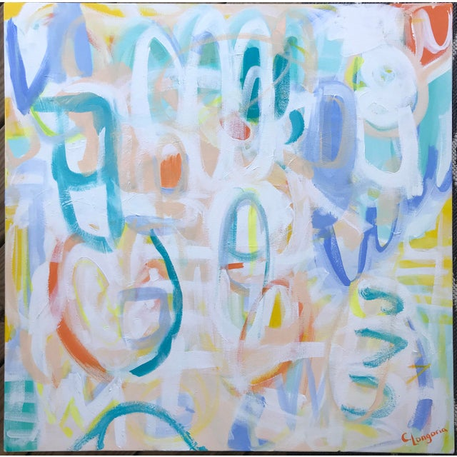 Loca Contemporary Abstract Painting For Sale In Raleigh - Image 6 of 6