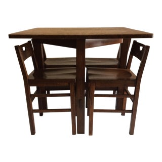 Stickley Table & Chairs For Sale
