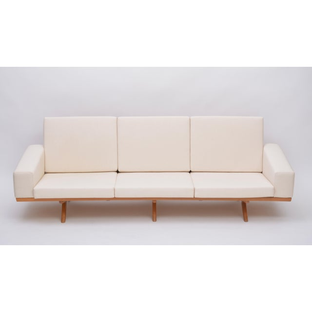 White Oak Sofa by Georg Thams for as Vejen Polstermøbelfabrik, 1964 For Sale - Image 8 of 12