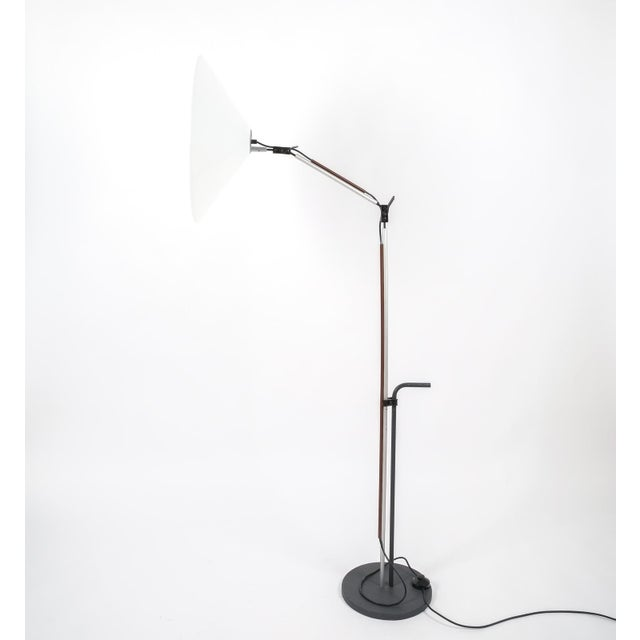 Enzo Mari Pair of Aggregato Floor Lamps by Enzo Mari, Circa 1970 For Sale - Image 4 of 10