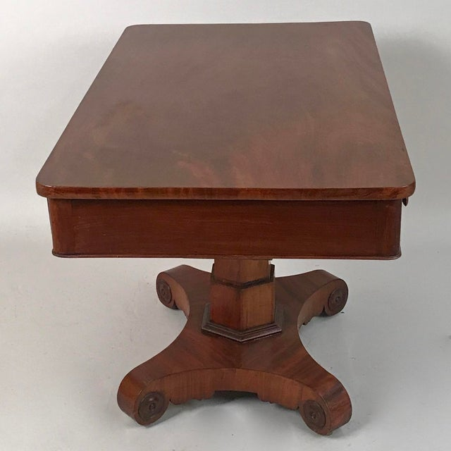 1825 George IV Mahogany Writing Desk For Sale - Image 4 of 11