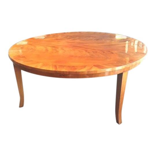 Stunning Round Coffee Table - Image 1 of 8