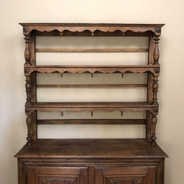 Early 19th Century 19th Century Italian Rustic Country Vaisselier For Sale - Image 5 of 11