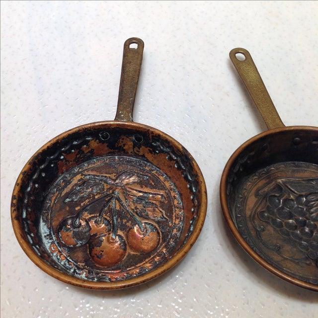 Swedish Copper Dessert Molds - Pair - Image 6 of 6