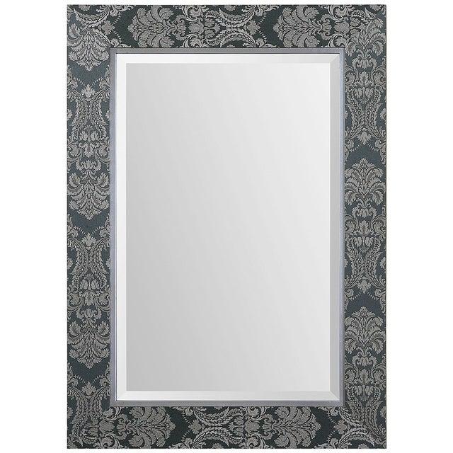 Sage Linen Framed Mirror - Image 2 of 2