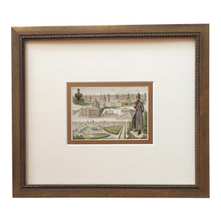 Early 1900's Framed City Card, Berlin For Sale