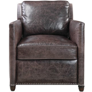 Leather Club Chair Preview