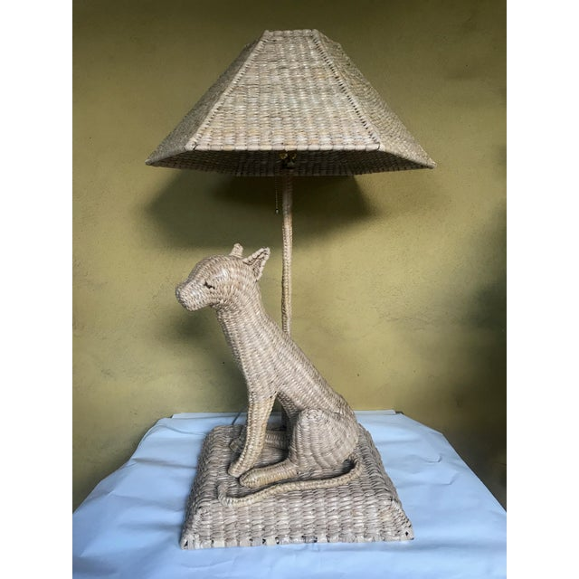 Mario Lopez Torres Cheetah Table Lamp and Shade For Sale - Image 10 of 10