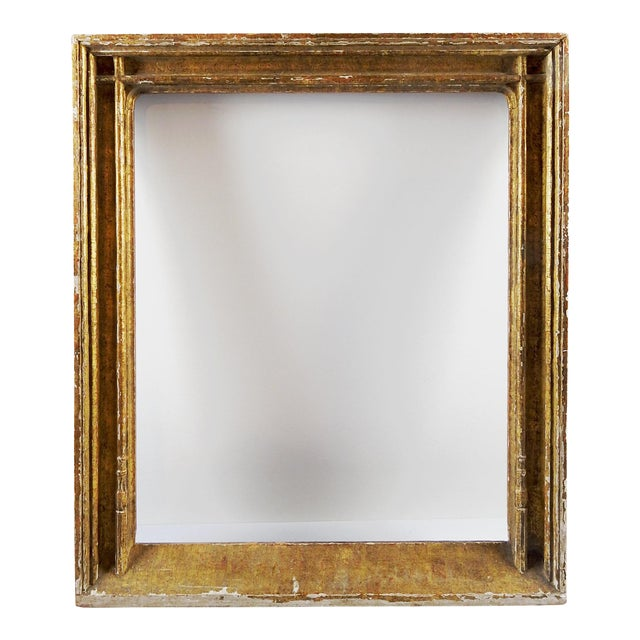 Antique M. Grieve Gothic Picture Frame For Sale
