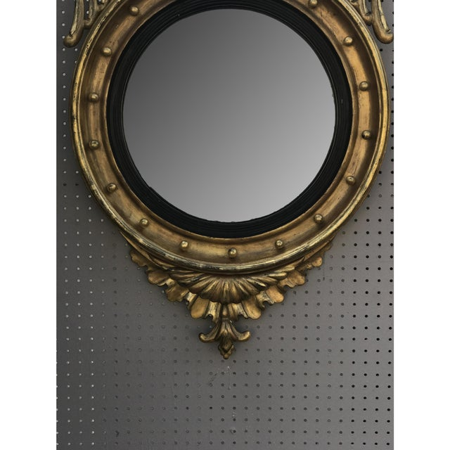 Late 18th Century Gilded Bullseye Mirror For Sale - Image 5 of 6