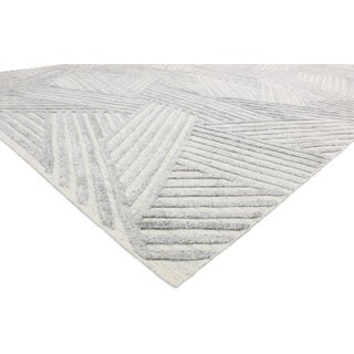 Contemporary Area Rug With Bauhaus Style - 9′ × 11′10″ Preview