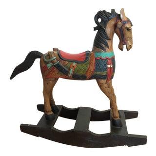 Handmade Rocking Horse From Italy
