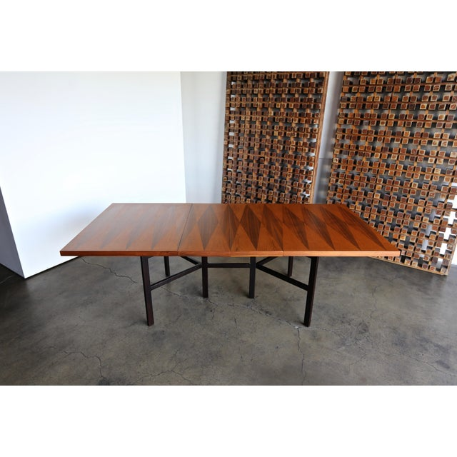 1960s Mid-Century Modern Milo Baughman Dining Table for Directional Furniture For Sale - Image 9 of 13