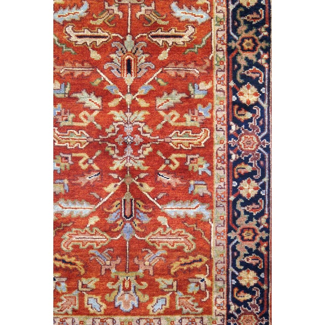 """Traditional Pasargad N Y Serapi Design Hand-Knotted Rug - 3'1"""" X 5' For Sale - Image 4 of 4"""
